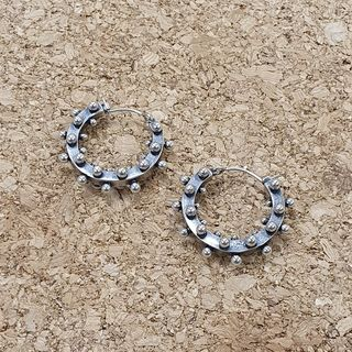 Quad Studded Portal Earrings