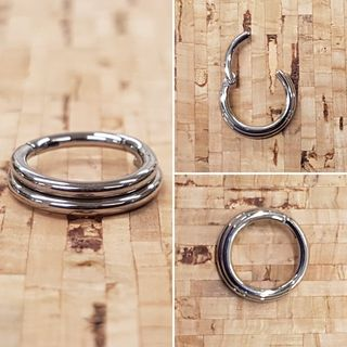 1.6mm Double Ring Clicker