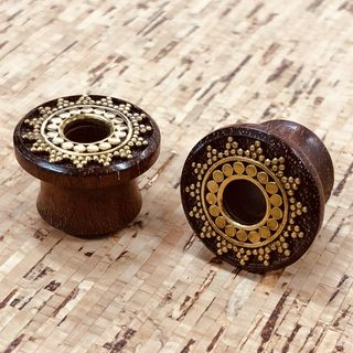 Afghan Inlay Plugs