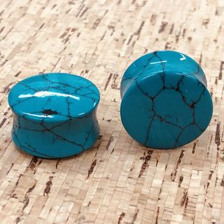 Green Turquoise Plugs