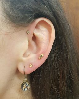 forward helix & lobes