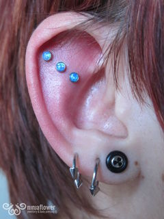 16 gauge triple helix