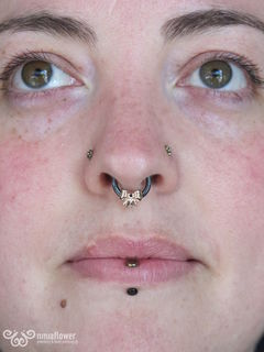 14gauge vertical labret