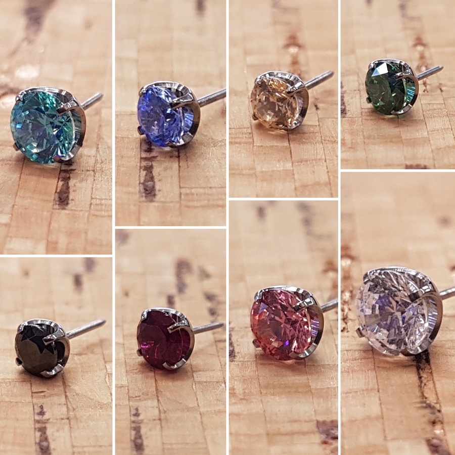 3mm Prong Gem Ends