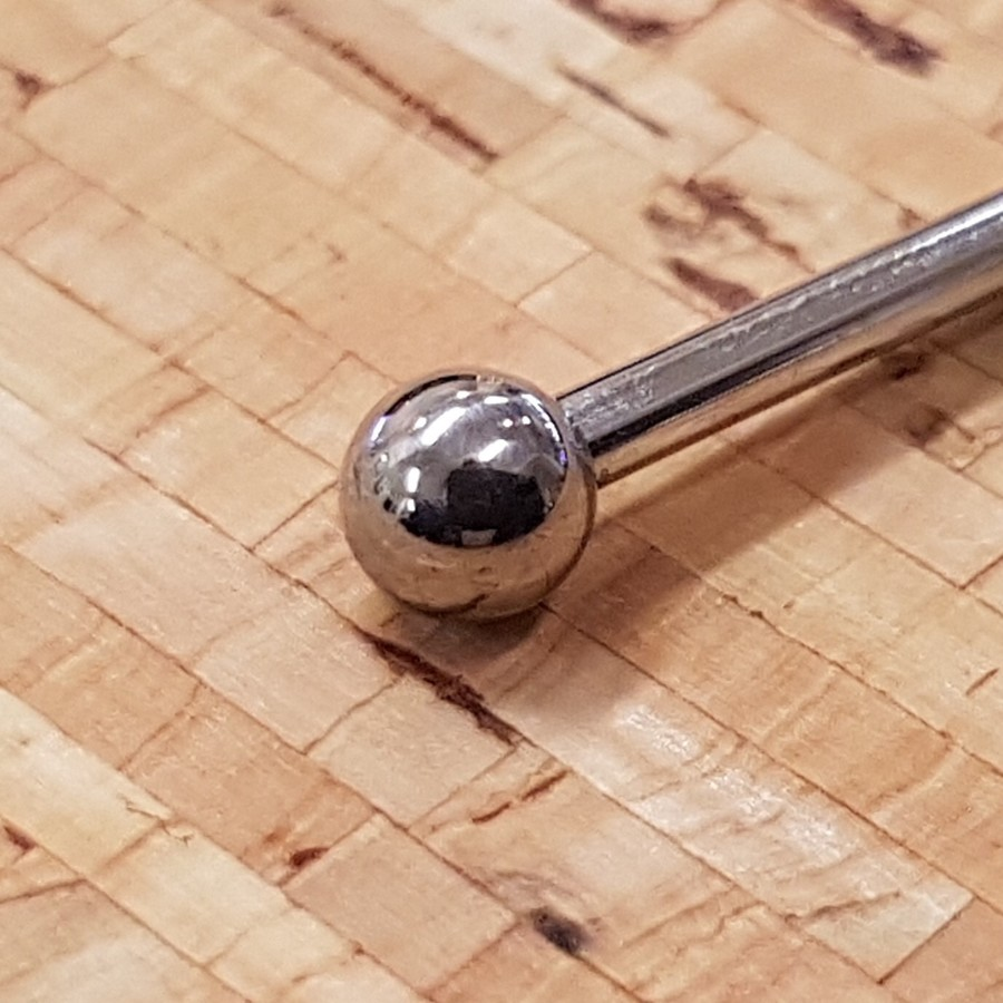 10g (2.5mm) threaded balls