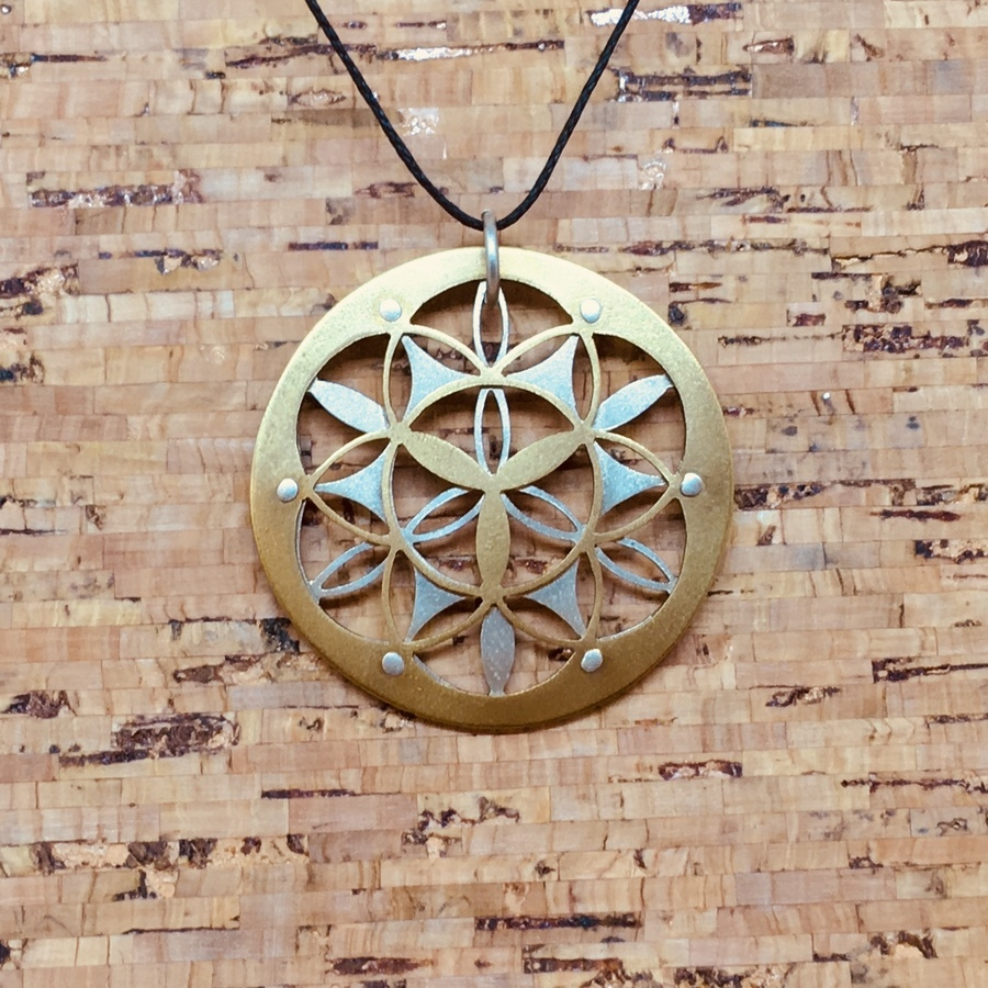 J15 - Flower of Life Pendant