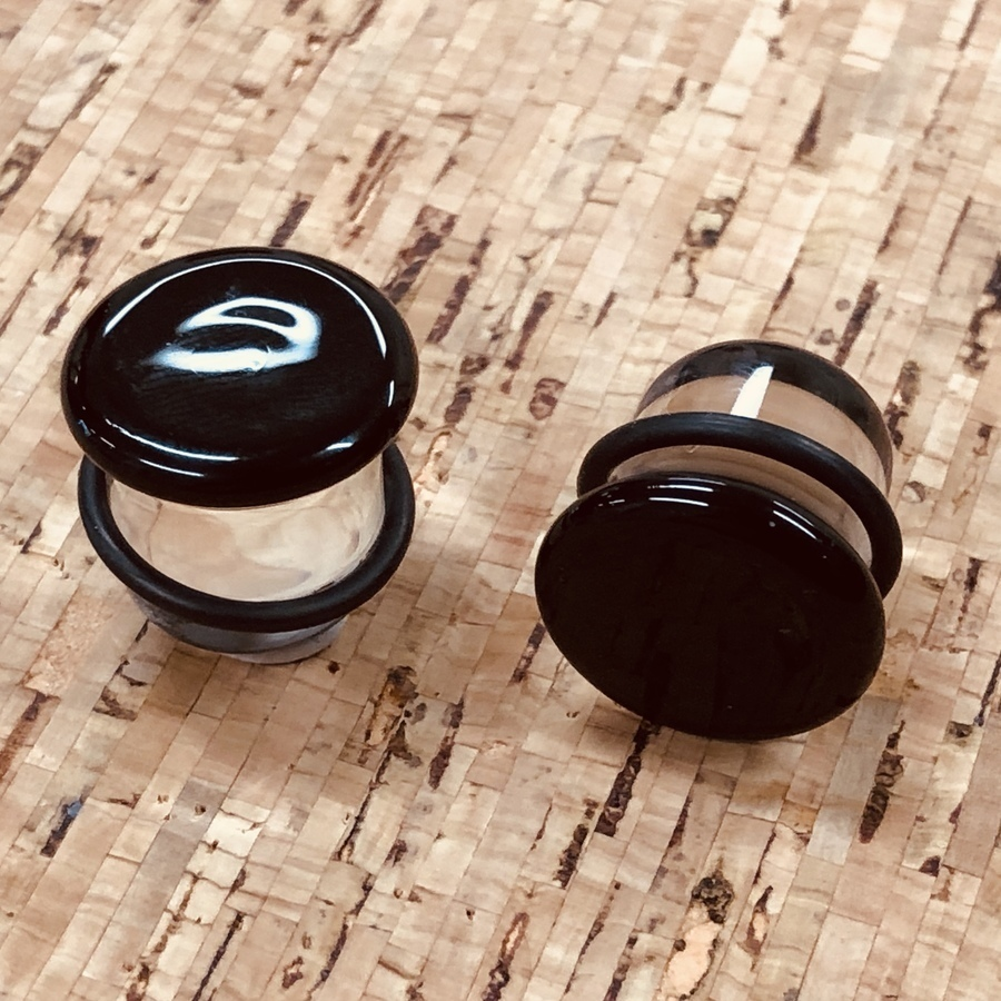 11mm Glass Plugs