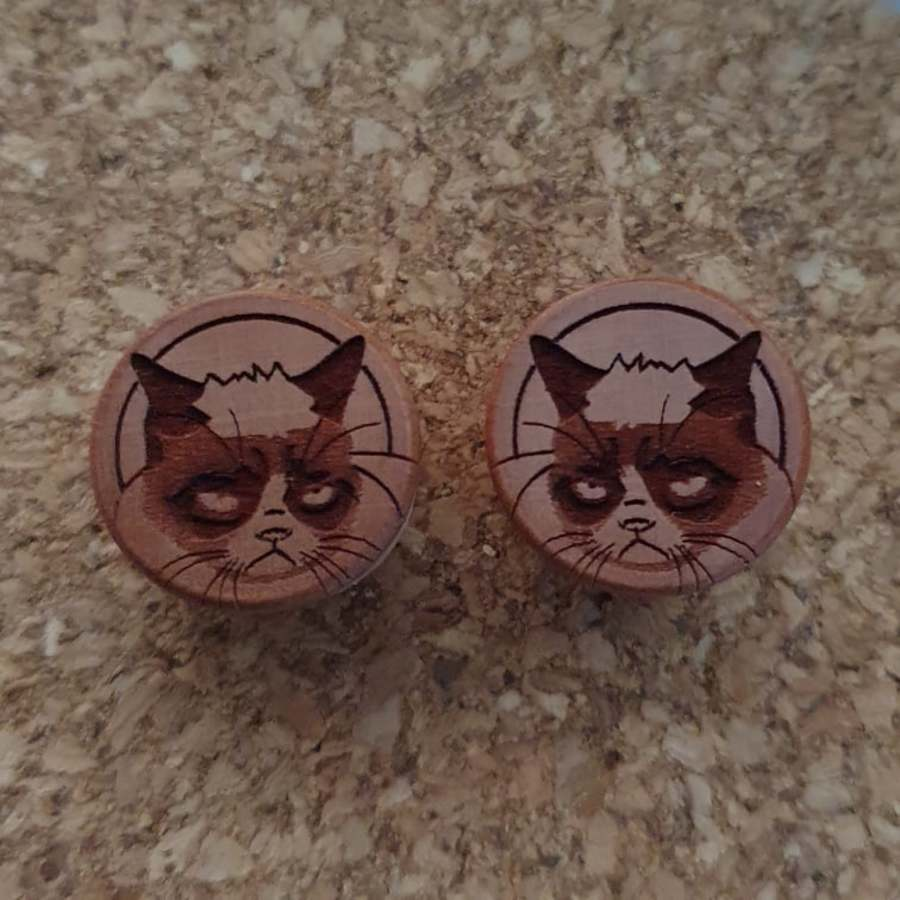 12.5mm Sourpuss Plugs