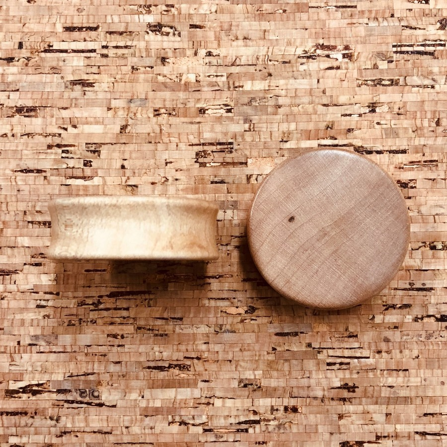34mm Maple Plugs