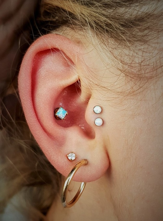 double tragus & conch