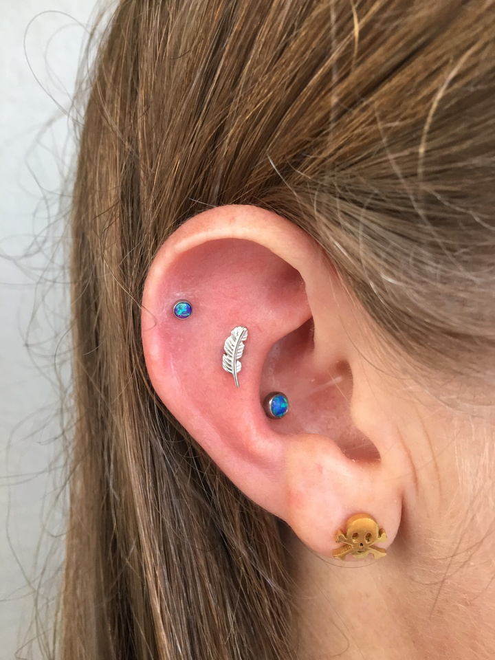double helix and conch