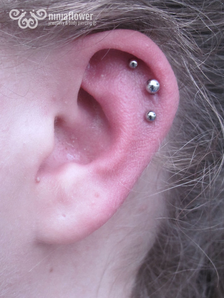 14 gauge triple helix